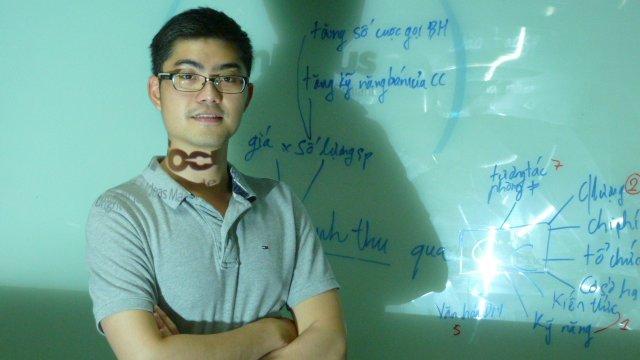 Software developer Nguyen Trung Hieu