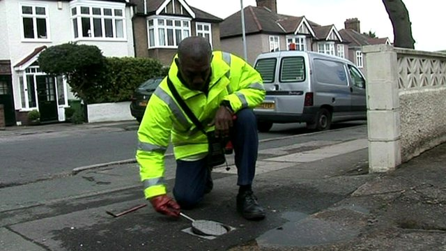 Water meter reader