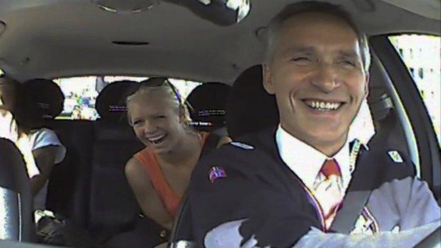 Norwegian PM Jens Stoltenberg