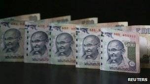 The value of the Indian rupee has seen sharp depreciations in the past few weeks