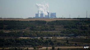 RWE power plant in Germany