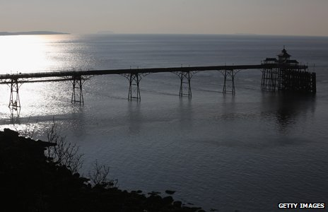 View of the Severn estuary