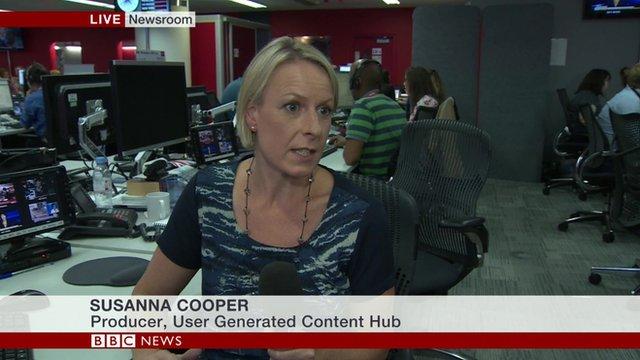 BBC's Susanna Cooper