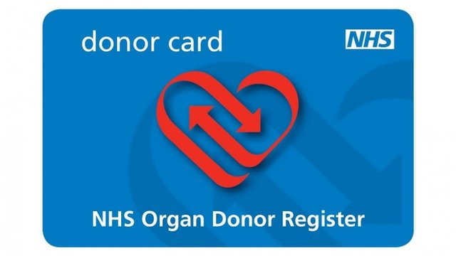 NHS Donor Card