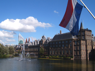 Binnenhof in The Hague
