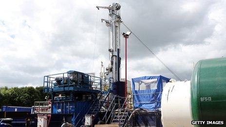 Test drilling equipment