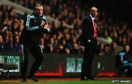 Paul Lambert and Paolo Di Canio