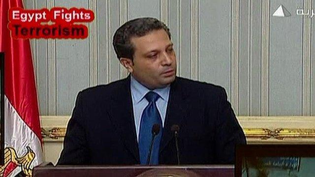 Spokesman Sharif Shawky