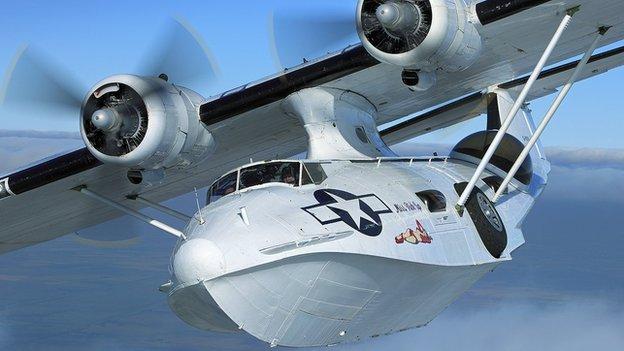 Catalina G-PBYA