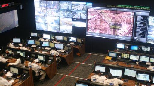 Rio' operations centre