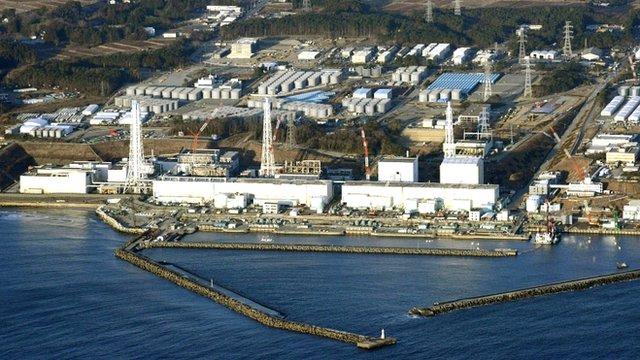 Fukushima plant - file photo