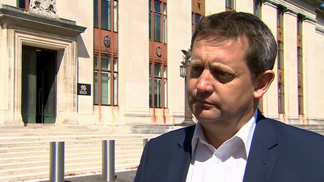 Natural Resources Minister Alun Davies