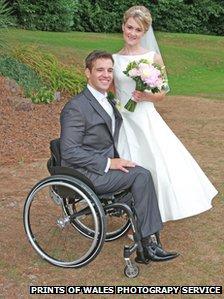 Nathan Stephens and Charlene Beard