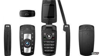Car key fob mobile phone