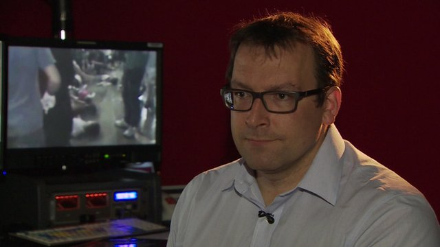 Stephen Johnson, an ex-chemical weapons expert with the British military