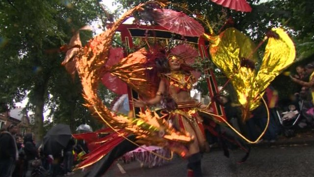 Leeds carnival dancer