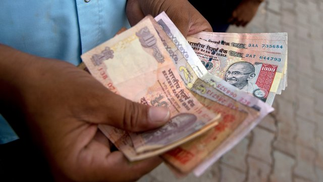 India rupee notes