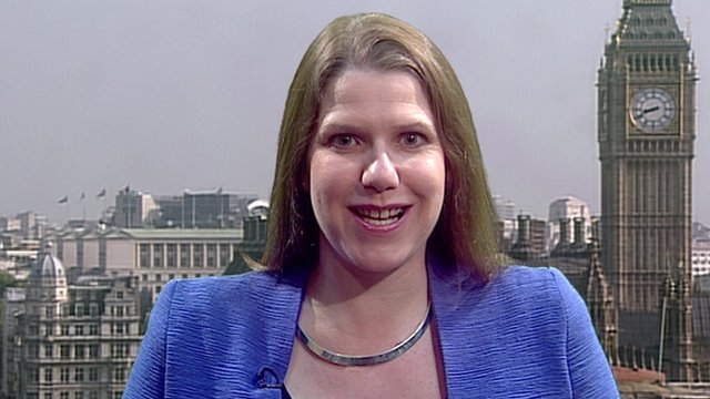 Employment Relations Minister Jo Swinson