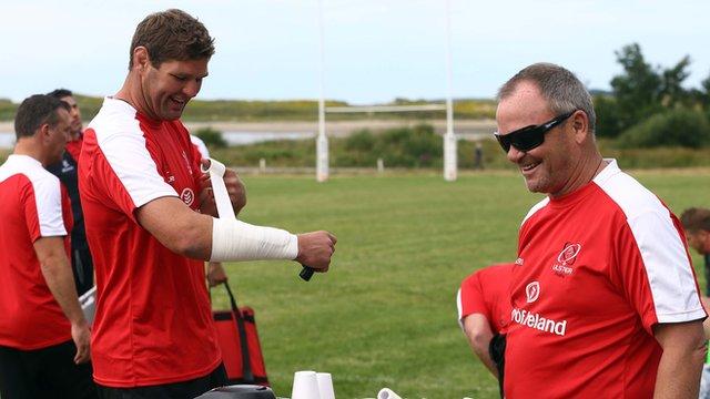 Johann Muller and Mark Anscombe