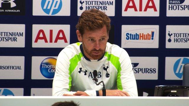 Tottenham boss Andre Villas-Boas