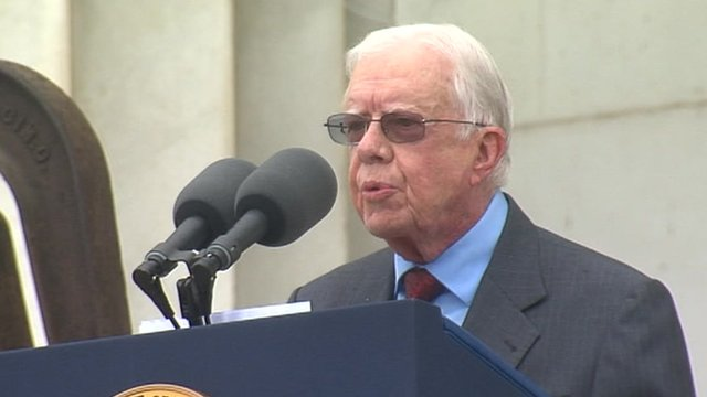 Jimmy Carter at the 50th Anniversary of the March on Washington