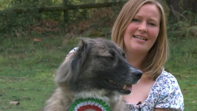 Wylie and owner Sarah Singleton