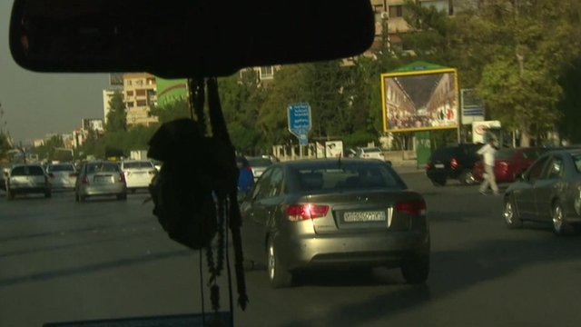 BBC travelling into Syria by car