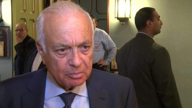 Nabil Elaraby, Secretary-General of the Arab League