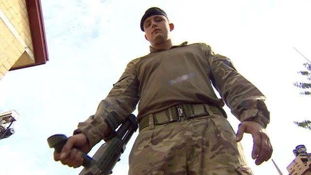East Midlands soldier