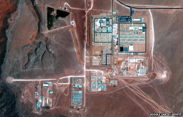 The In Amenas gas plant from above