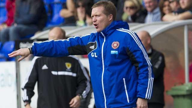 Heart of Midlothian manager Gary Locke