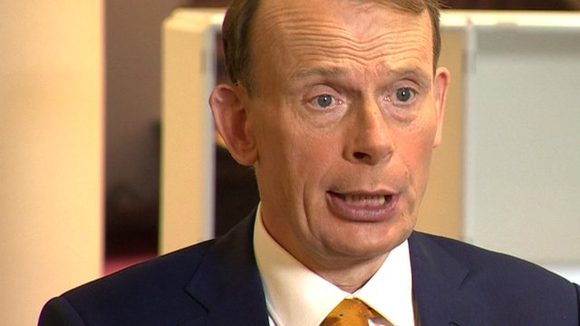 BBC broadcaster Andrew Marr