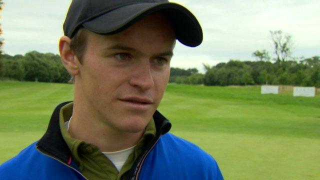 Northern Ireland Open winner Daan Huizing