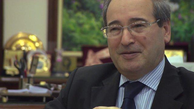 Syrian Deputy Foreign Minister Faisal Mekdad