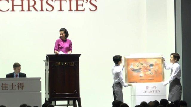 Christie's art auction