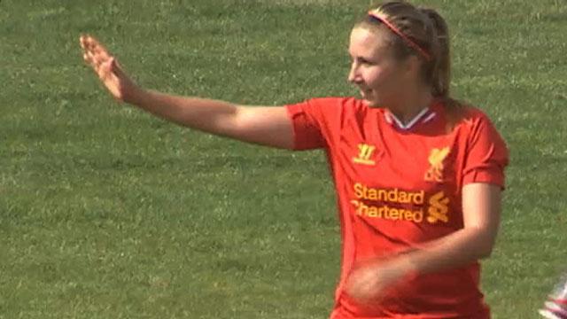 Swedish midfielder Louise Fors