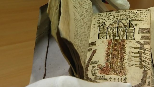 Book at Canterbury Cathedral