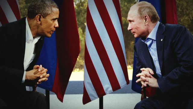 President Obama and President Putin