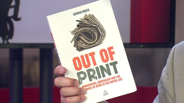 Book cover for Out of Print