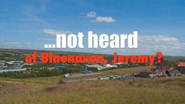 Torfaen council's video about Blaenavon
