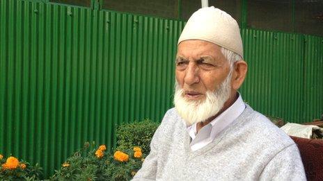Kashmir veteran separatist leader, Syed Ali Shah Geelani