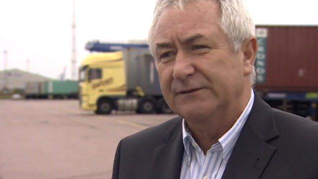 Paul Dawson, of Deben Transport