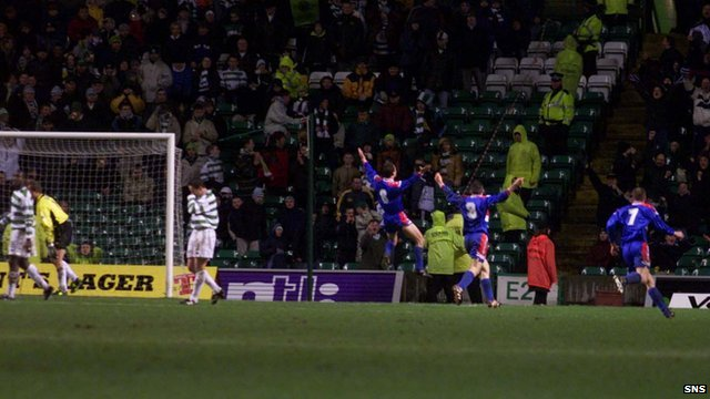 Celtic 1 Caley Thistle 3