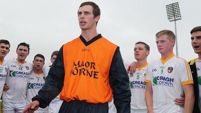 Neil McManus assistant coach Antrim Under-21 hurling team