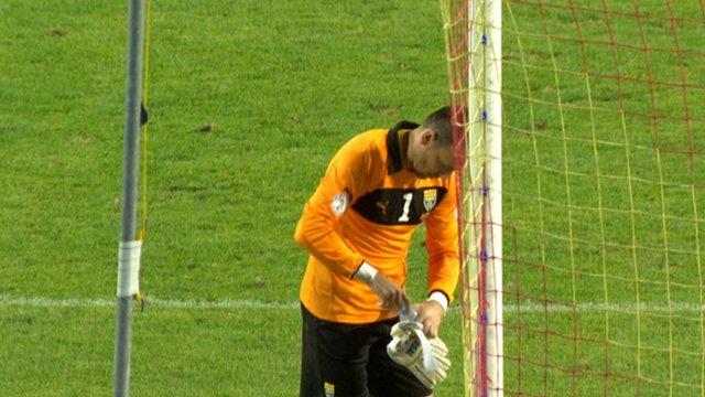 Macedonia keeper Tomislav Pacovski