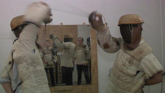 Germen men fencing