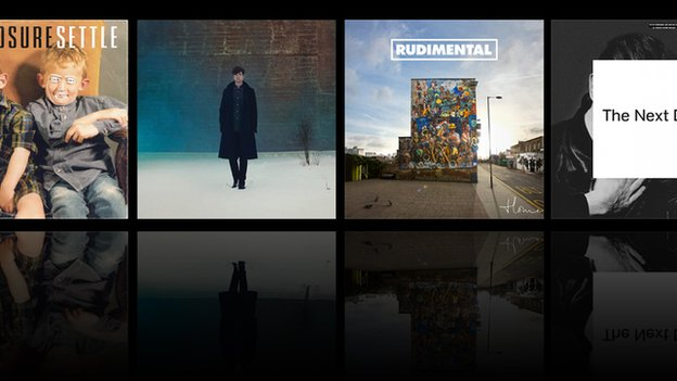 Some of the albums nominated for this year's Mercury Prize