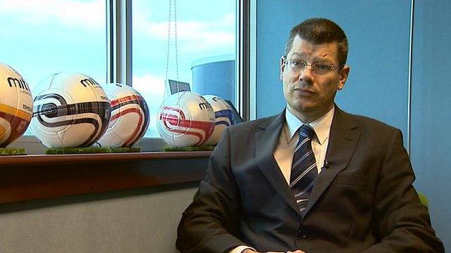 Scottish Professional Football League chief executive Neil Doncaster