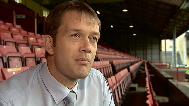 Partick Thistle general manager Ian Maxwell