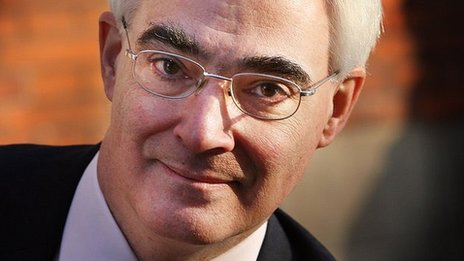 Alistair Darling MP, former chancellor of the exchequer